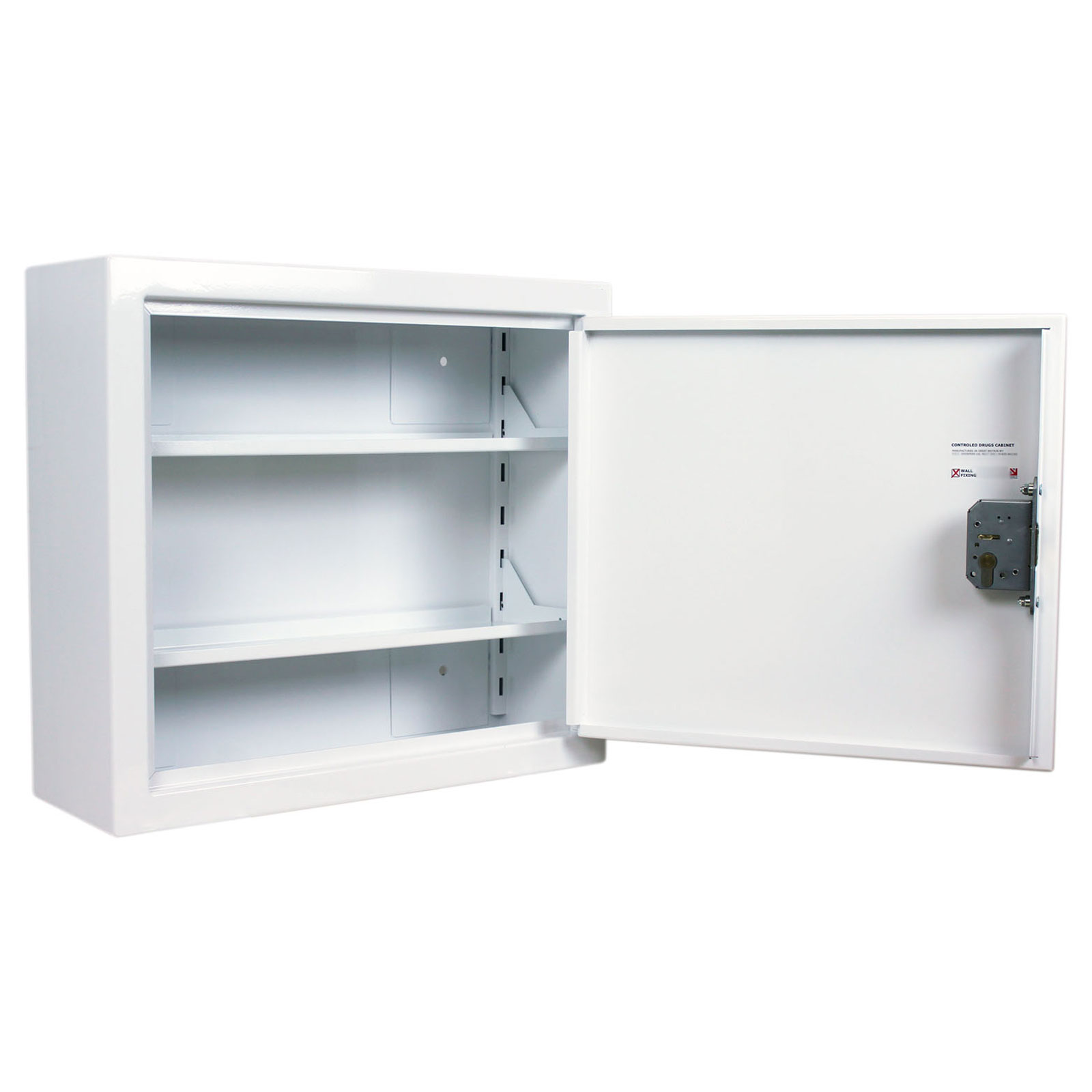 Controlled Drugs Cabinet | 59.2 Litre with Two Adjustable Shelves
