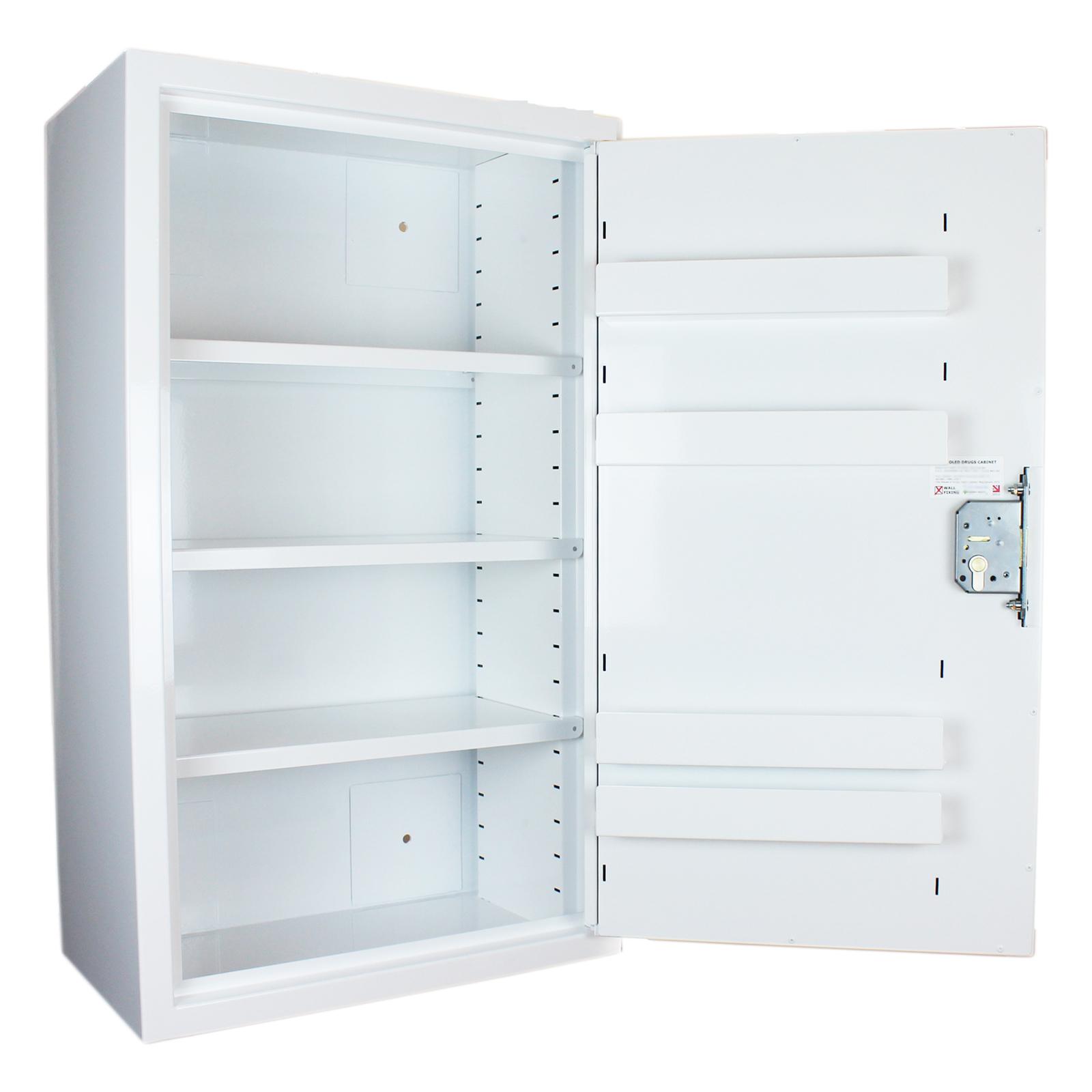 FPD 12148 controlled drug cupboard open door 127.5 litre