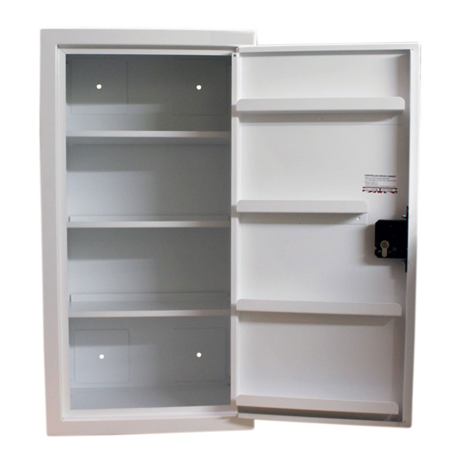 FPD 12367 Controlled Drugs Cabinet 127.5 Litre door open