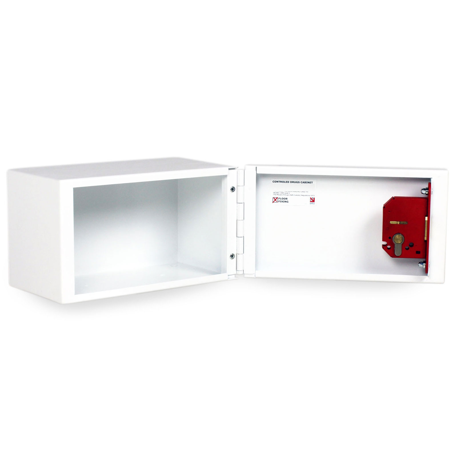 FPD 12369 Controlled Drugs Cabinet 8 Litre door open