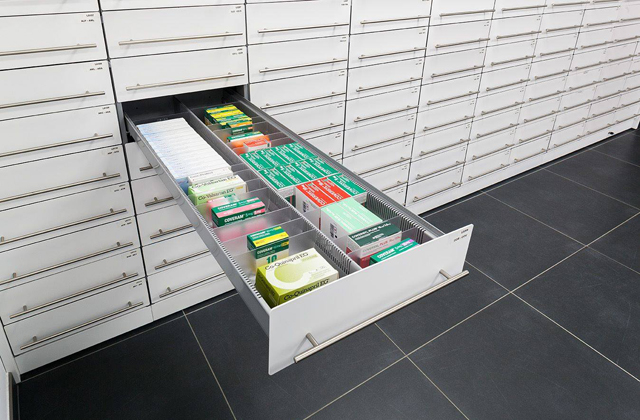 Pharmacy Drawer Systems