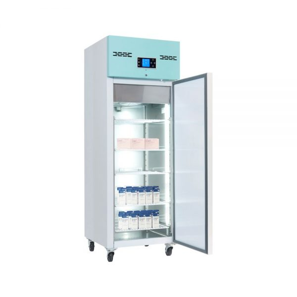 Large Vaccine Fridge 600 Litre Freestanding with Solid Door