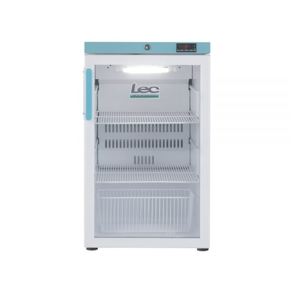 Vaccine Fridge 107 Litre Under-Counter with Glass Door