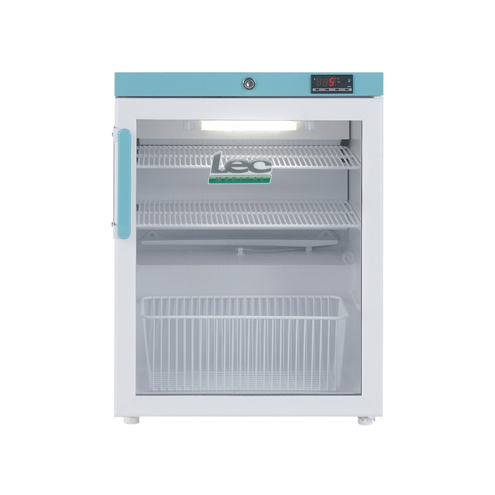 Vaccine Fridge 82 Litre Countertop with Glass Door