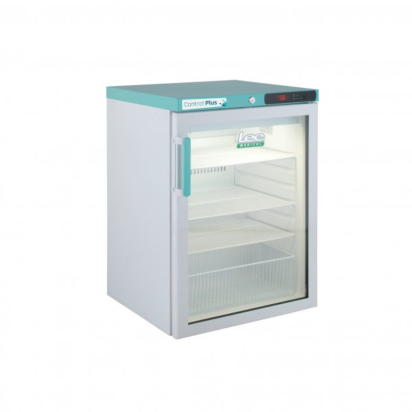 Vaccine Fridge 158 Litre Under-Counter with digi lock with Glass Door