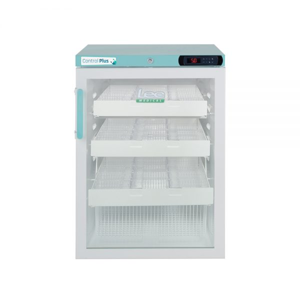 Vaccine Fridge 158 Litre Under-Counter with drawers with Glass Door