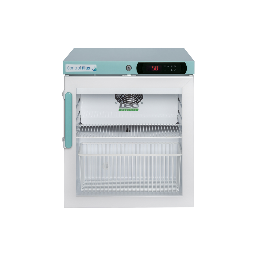 Vaccine Fridge 47 Litre Countertop with Glass Door