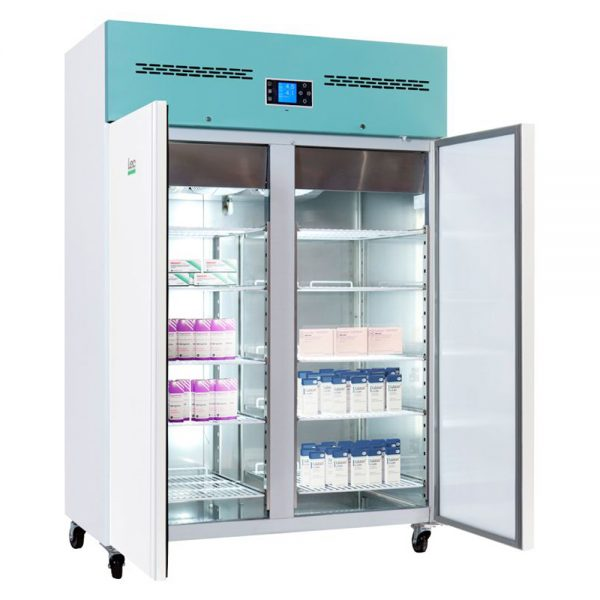 Large Vaccine Fridge 1200 Litre Freestanding with Solid Door with Solid Door