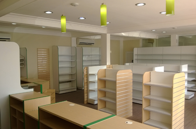 pharmacy counters