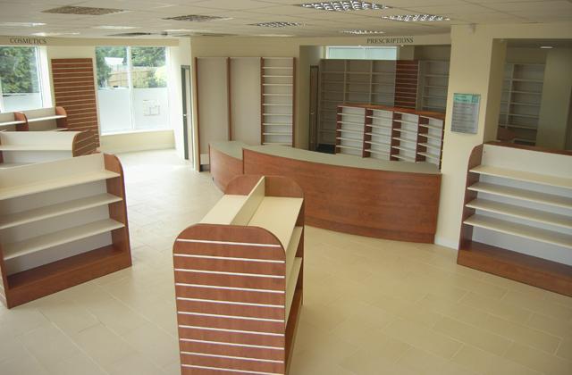 pharmacy showcases